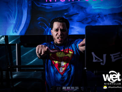 Superhero Halloween Party - Wet Nightclub